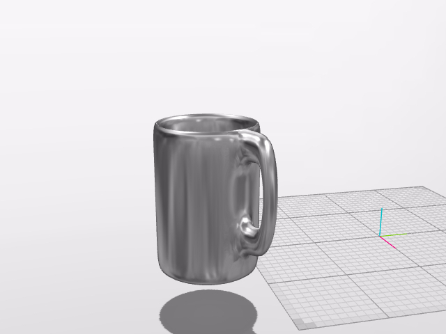 steel mug - 3D design by Sergiu Bancos Dec 16, 2016