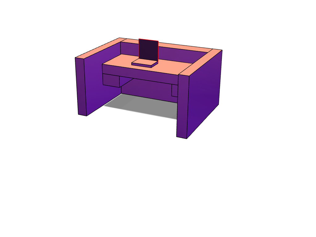 THE DESK OF DOOOOM - 3D design by zaydenn.lewis Sep 19, 2017
