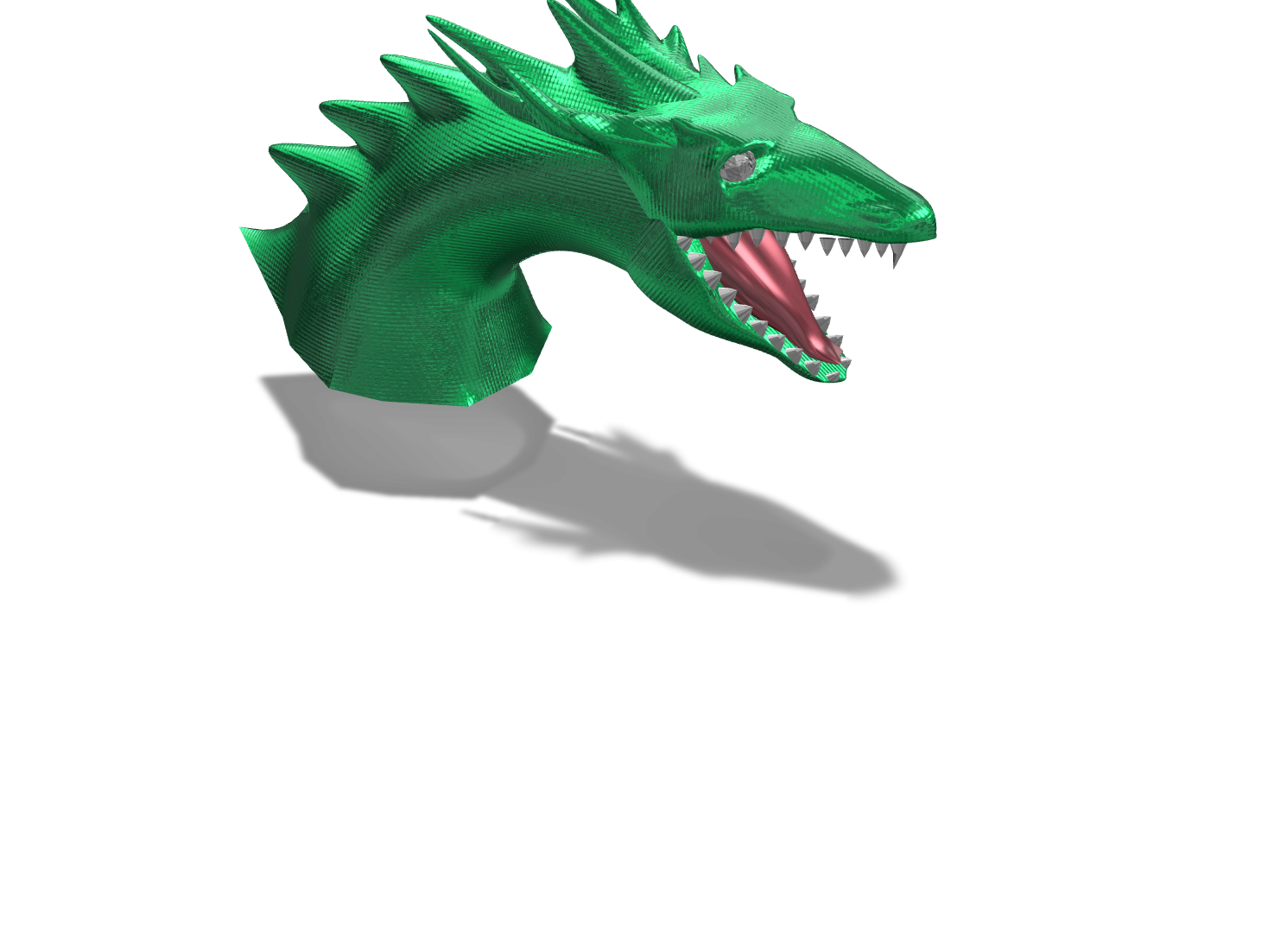 dragon - 3D design by Lode Grsman May 25, 2018