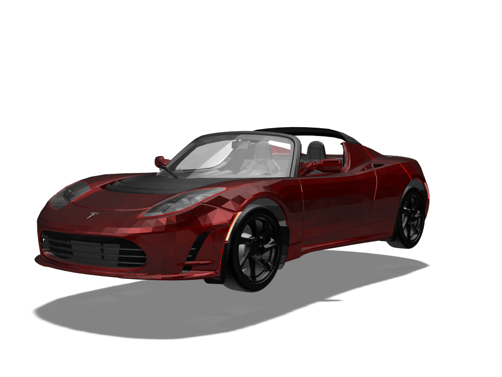 Elon's Roadster - 3D design by The-Senate on Mar 10, 2018