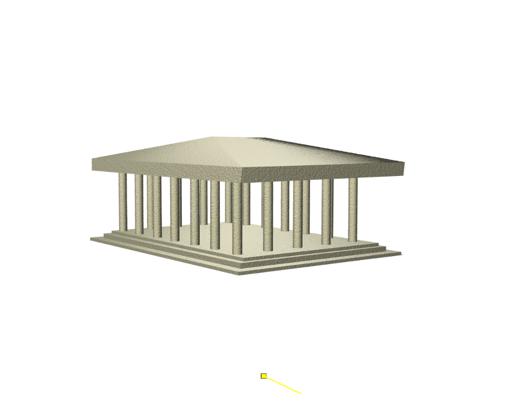 Acropolis - 3D design by stavros.trex on Sep 26, 2017