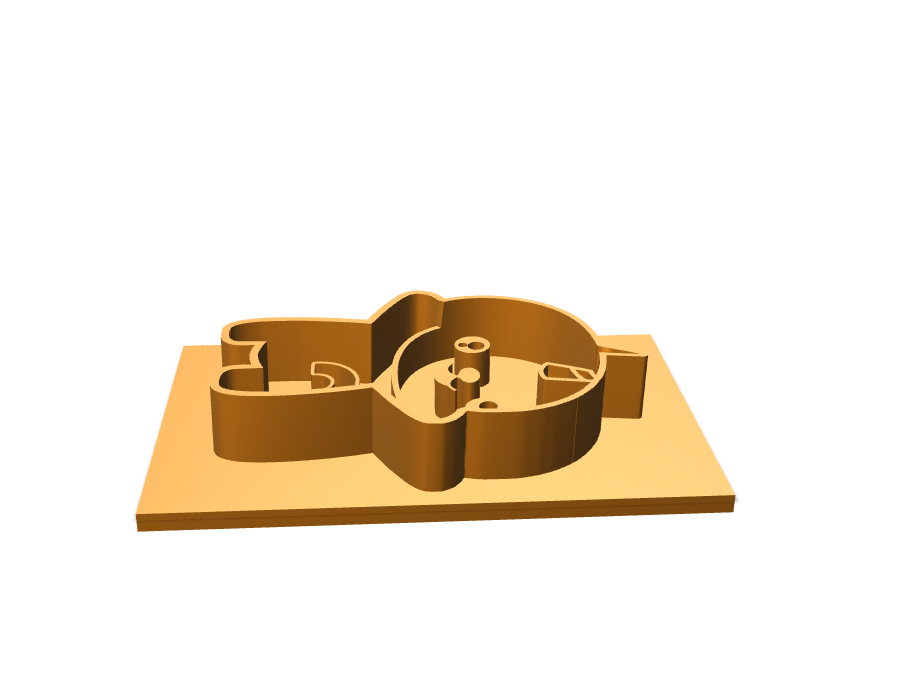 Slothicorn Cookie Cutter - 3D design by Peter Bock Mar 28, 2018
