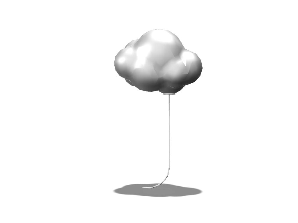 Cloud Balloon - 3D design by Tien Ming Hsiang Mar 26, 2018