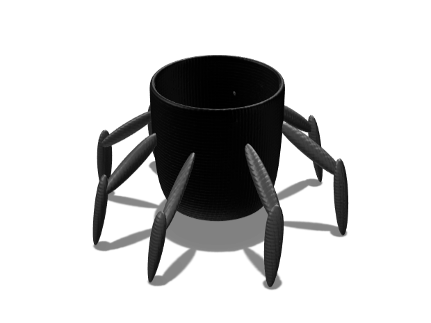 spider kopp my first project - 3D design by LoMaX on Feb 14, 2018
