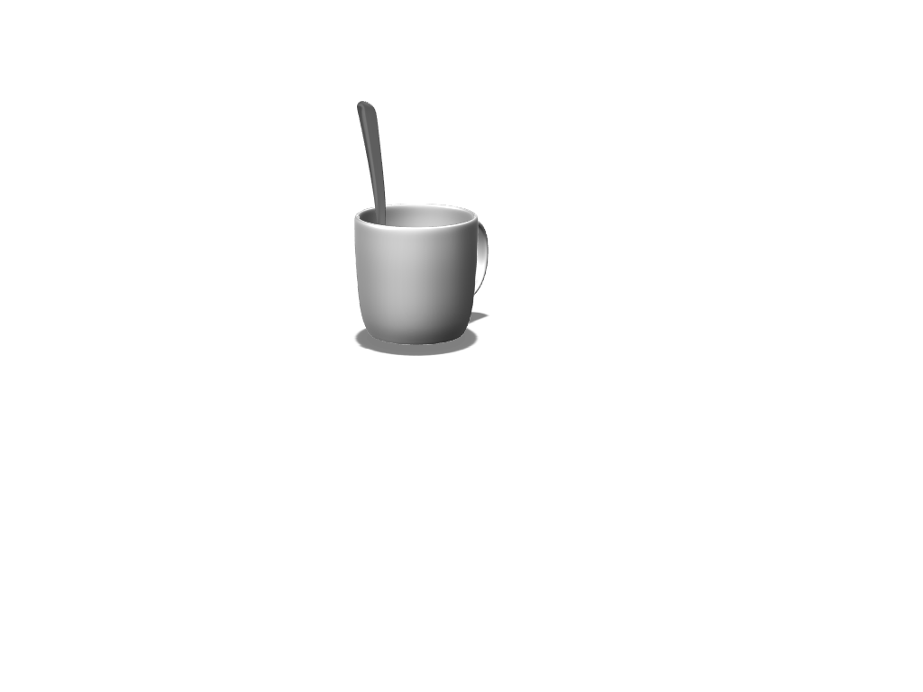 cup - 3D design by Robert Paux May 1, 2018