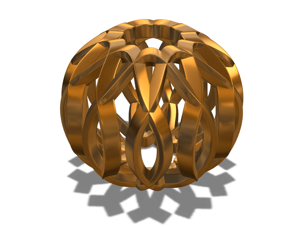Array bauble 1 - 3D design by fewowuzeco Dec 20, 2017
