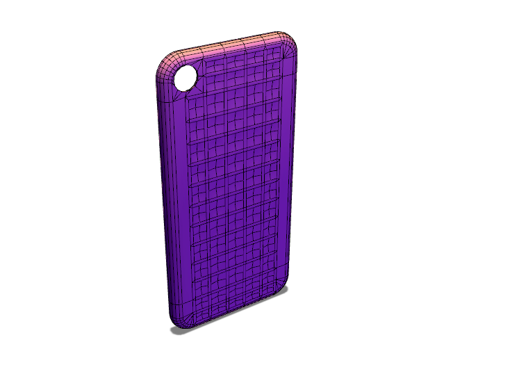 Soft Touch 0.1mm thickness layeriPhone 7 cover template | MyMiniFactory Design Competition - 3D design by my.49.reia Sep 16, 2017