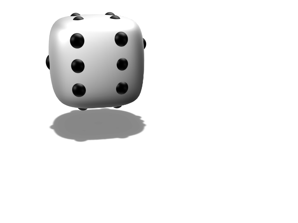 dice - 3D design by Mary Nay Apr 11, 2018