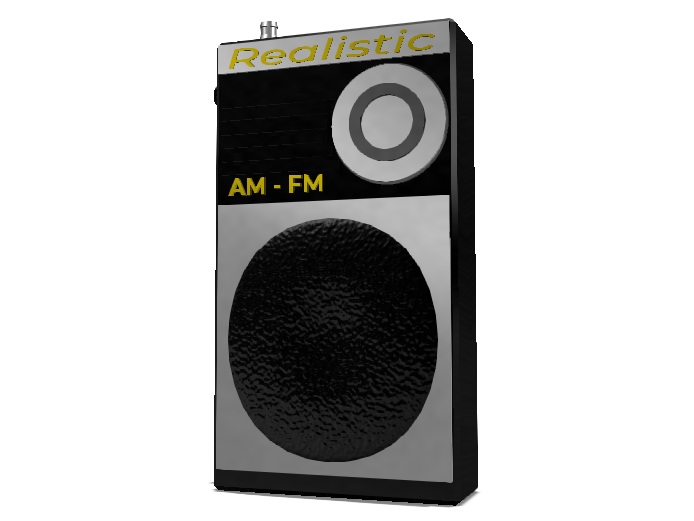 Custom Made Transistor Radio   - 3D design by Mr_John on Apr 24, 2018