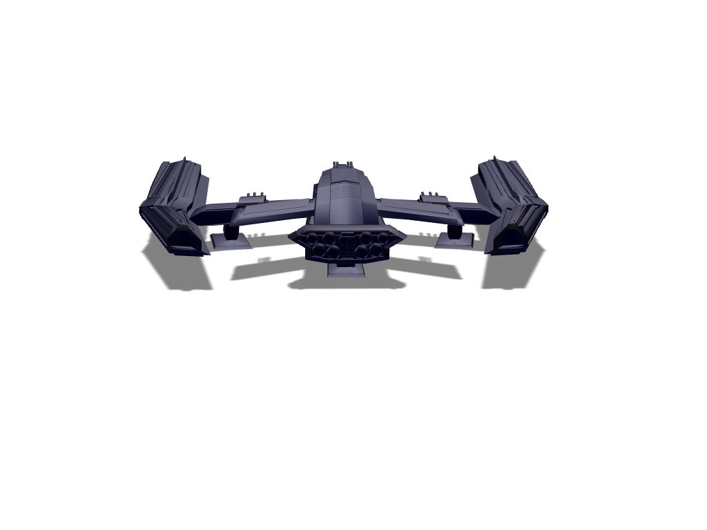Space Fighter Jet - 3D design by finnis.t Sep 12, 2017
