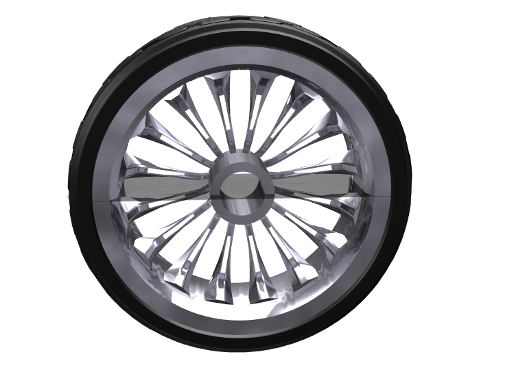 Wheel - 3D design by Dinesh Shettigar Mar 12, 2018