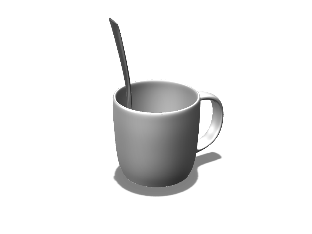 Mug color - 3D design by VECTARY Nov 23, 2016