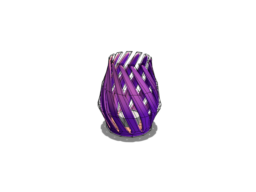 Lantern - 3D design by pedrosland Dec 18, 2017