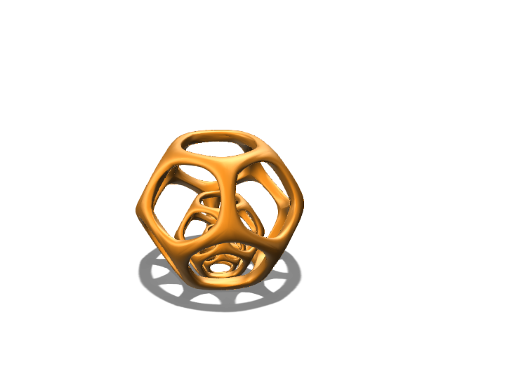 dodecahedron - 3D design by timothydeoliveira123 on Nov 17, 2017