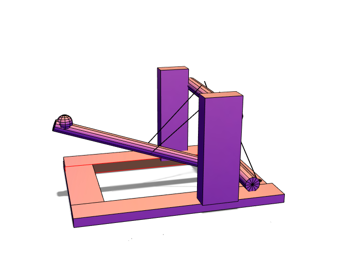 Catapult - 3D design by Megan Ezzo Jun 4, 2018