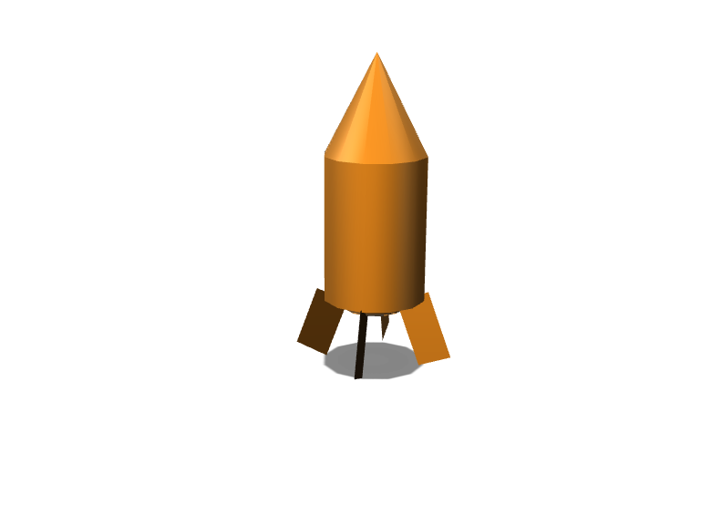 Rocket - 3D design by Rajet Jan 15, 2018