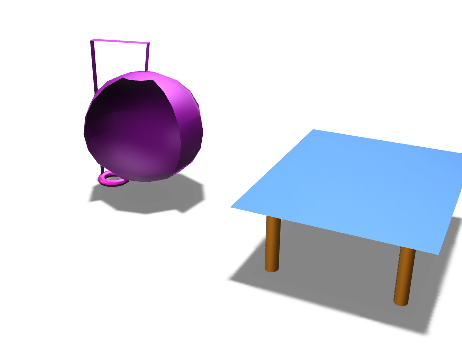 chair & table  - 3D design by mcortes21 Nov 10, 2017