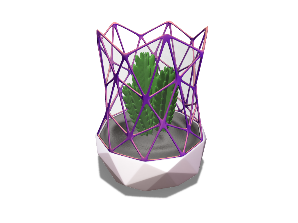 Minigreenhouse - 3D design by meshtush Sep 13, 2016