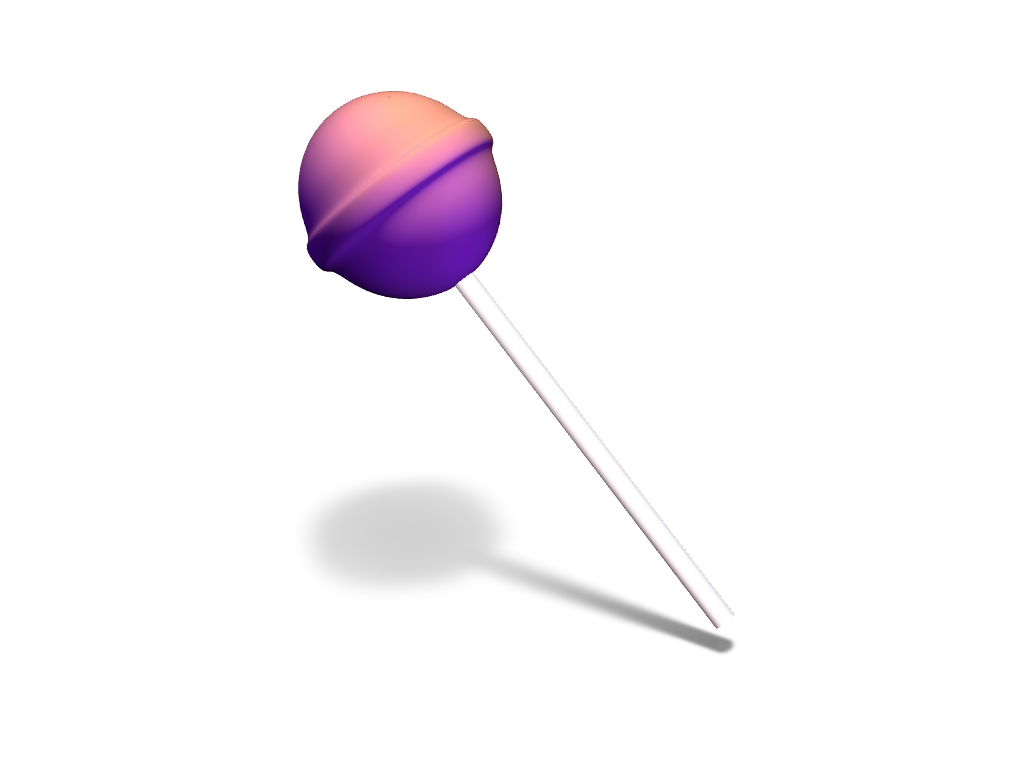 lollipop scene - 3D design by VECTARY Feb 28, 2017