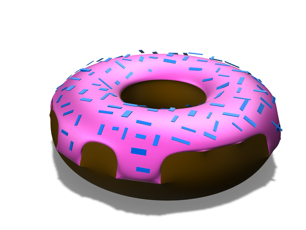 Doughnut - 3D design by Caleb Com Sep 14, 2017