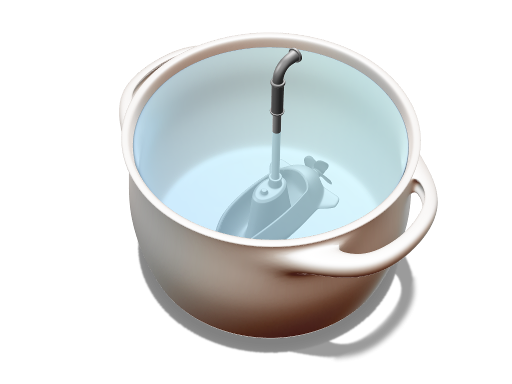 Submarine ladle - 3D design by Johnnyal Jul 31, 2017