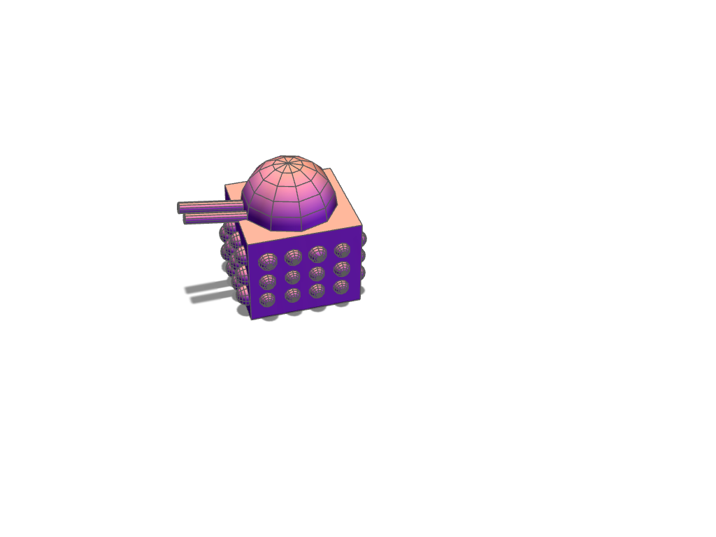 dalek - 3D design by jai.allman on Nov 15, 2017