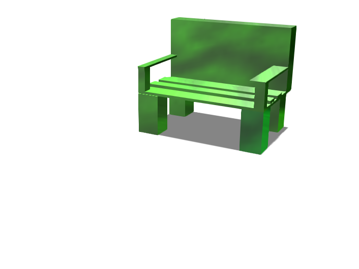 Phone bench - 3D design by Nikola Drobnjak Aug 30, 2017