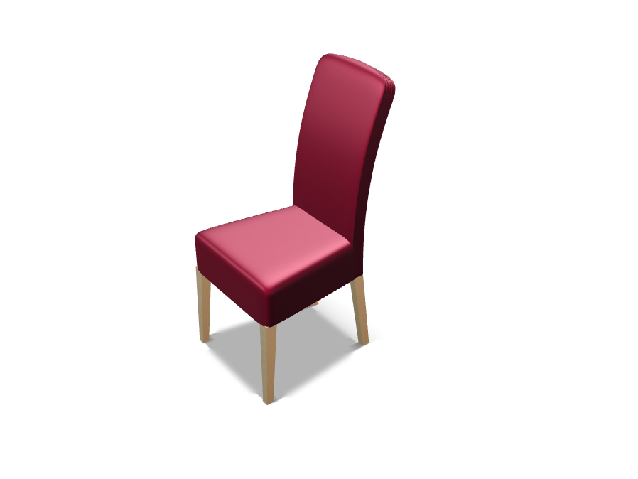red stool - 3D design by geroki on May 19, 2017