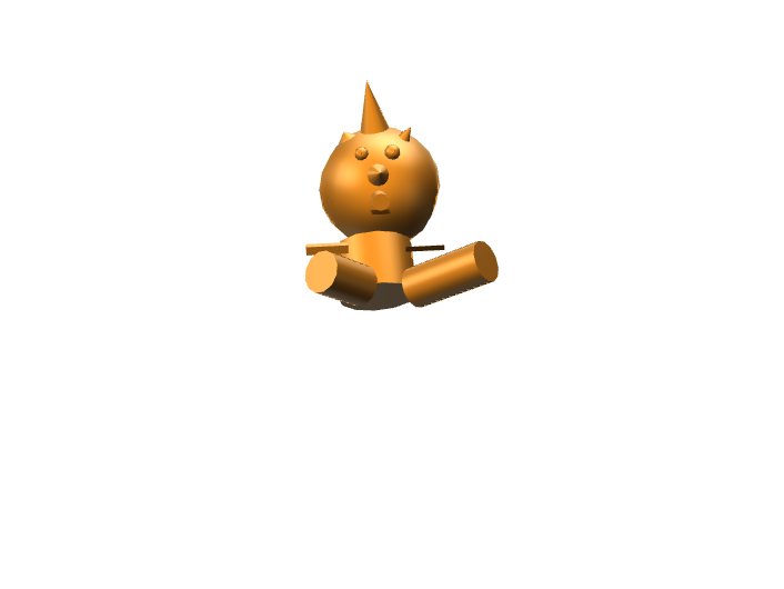 my animal - 3D design by ollowr27 on Nov 17, 2017