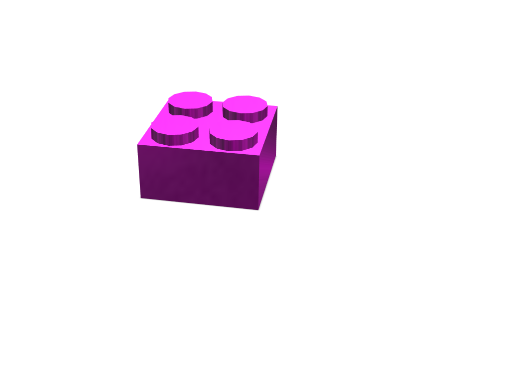 Lego - 3D design by ziboone May 4, 2018