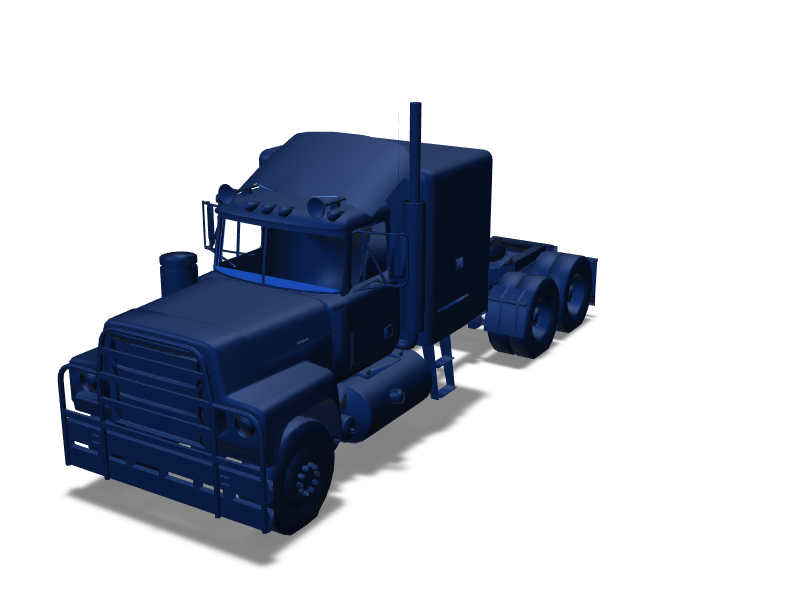 Truck - 3D design by cicig0901 May 19, 2018