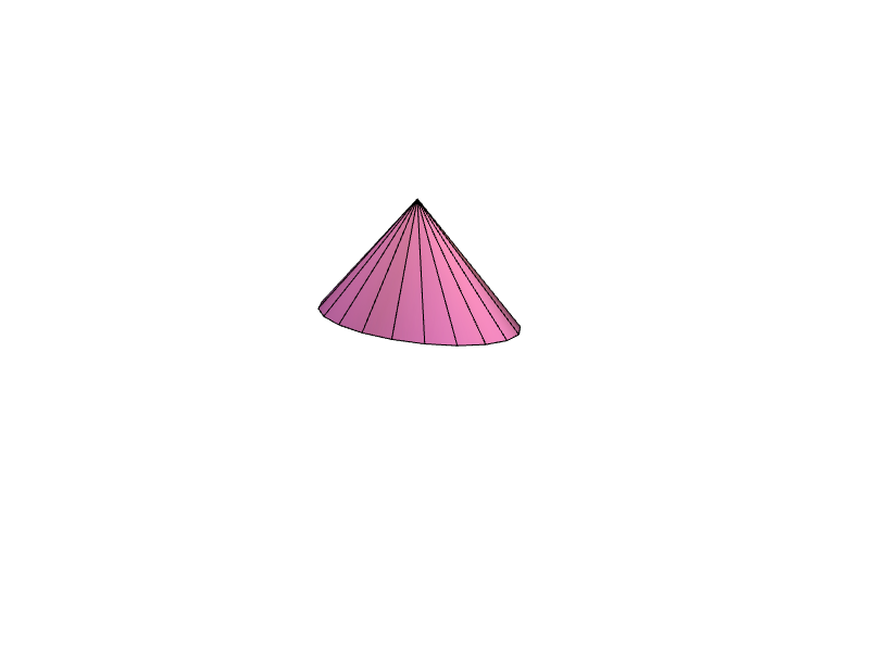 cone shape - 3D design by dthornburg on Jun 12, 2017