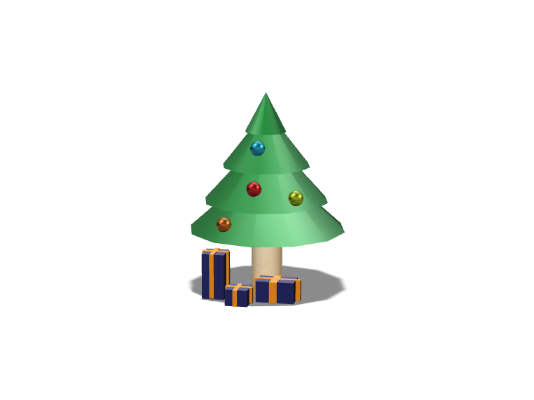 Christmas tree v2 - 3D design by Hammerhit 36 Nov 13, 2017