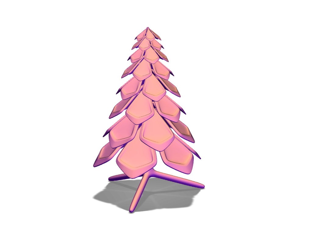 Christmas tree - 3D design by Adrian Dec 8, 2016