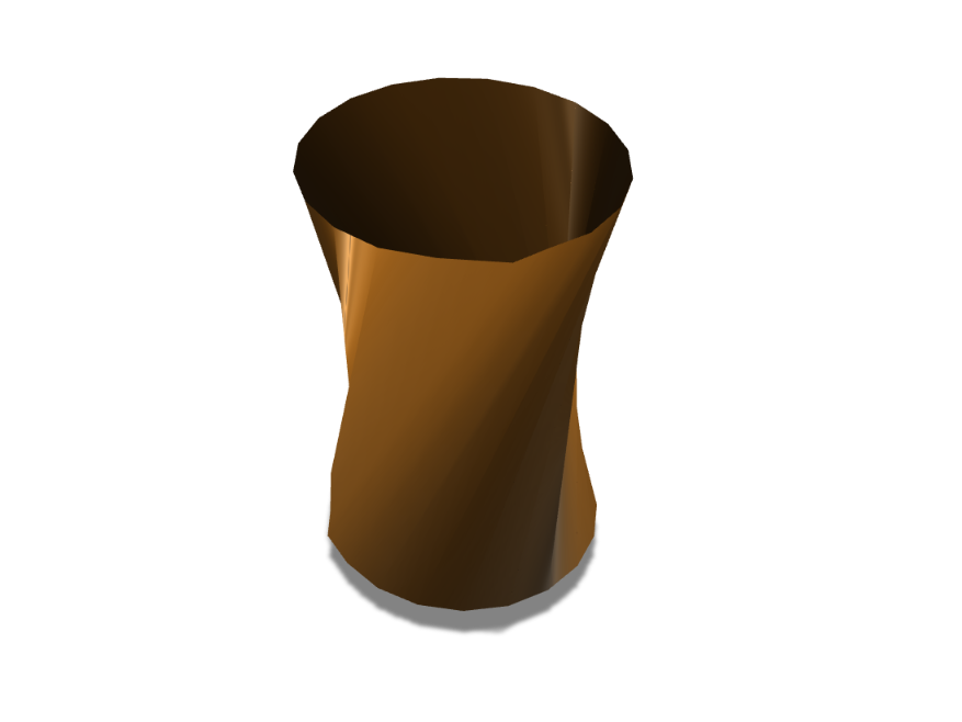 ROUND VASE REMAKE - 3D design by coolestlegendTHEbeast on Aug 31, 2017