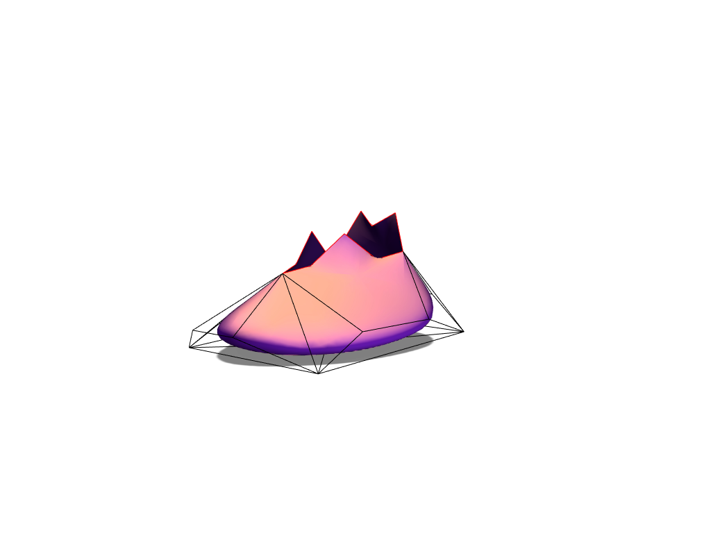 Shoe - 3D design by Mohamad Tamsamani on Mar 3, 2018