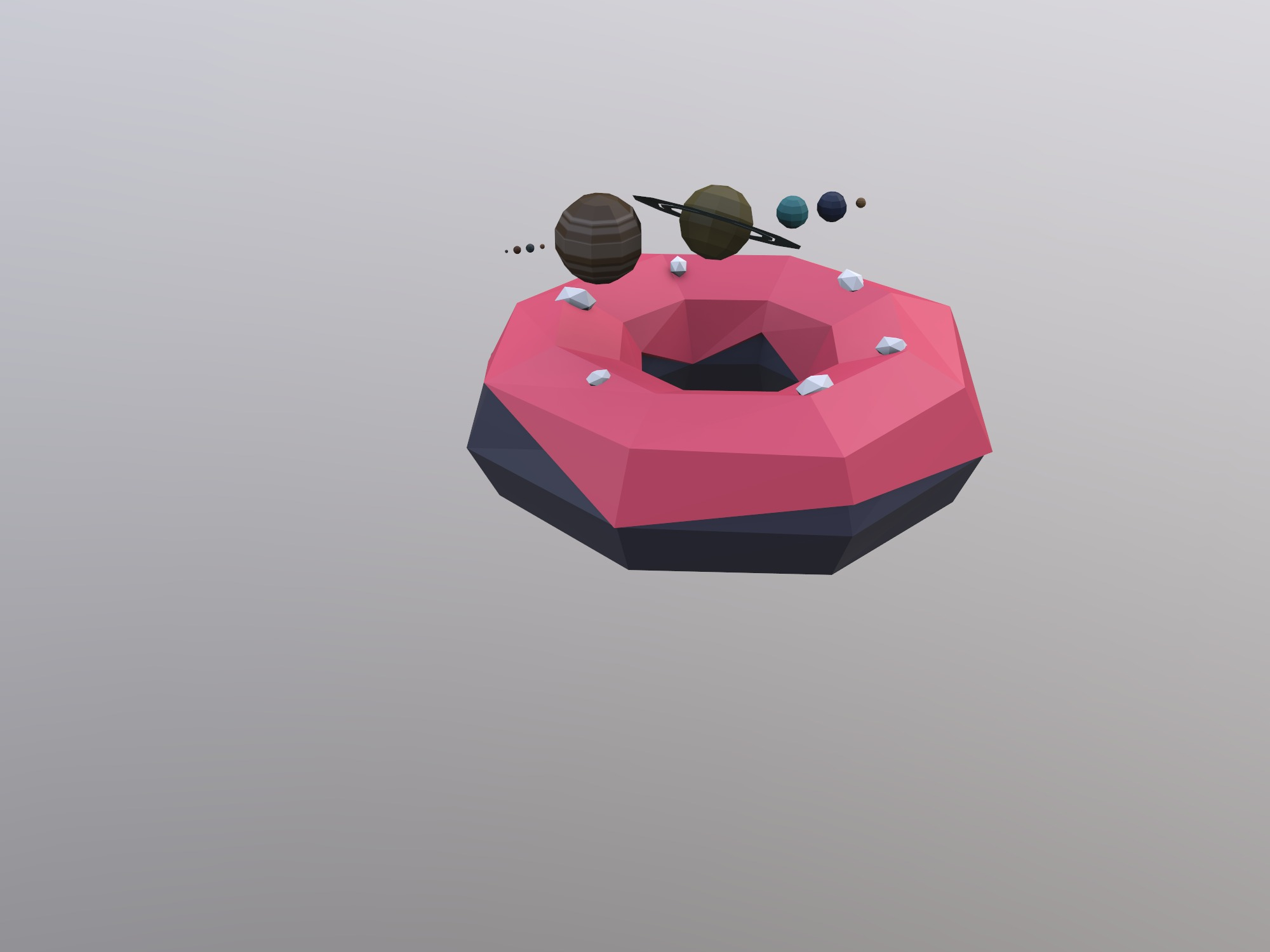 ponczek planetarny (copy) - 3D design by Michał Knurowski on Dec 17, 2018