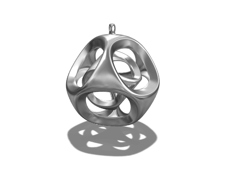 Bauble in a bauble - 3D design by Genny Pierini on Dec 18, 2017
