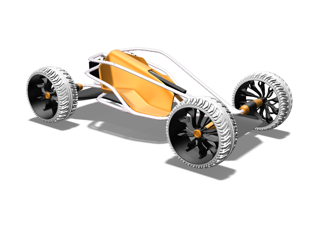 Buggy project - 3D design by Johnnyal Nov 30, 2016