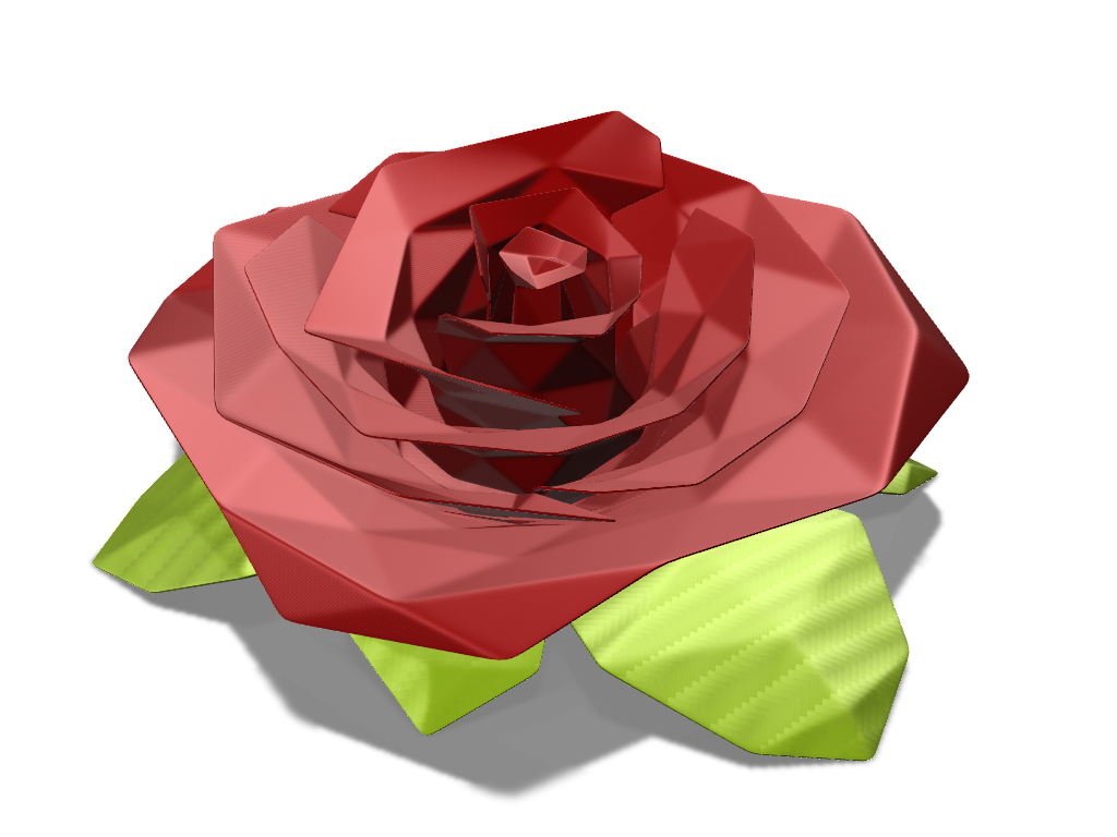 POLY ROSE - 3D design by Adrian Jan 17, 2017