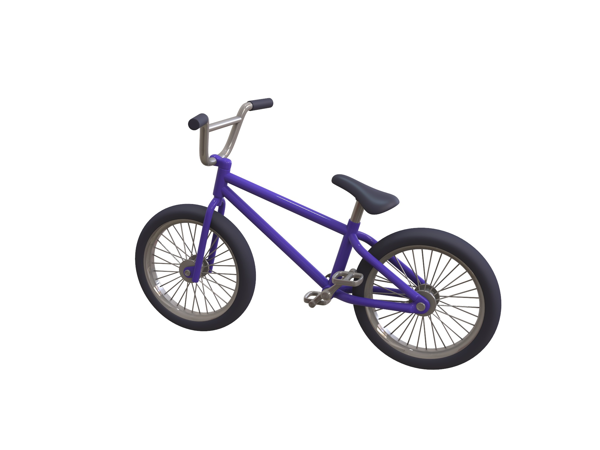 Freestyle Bike - 3D design by Vectary assets Jun 4, 2018