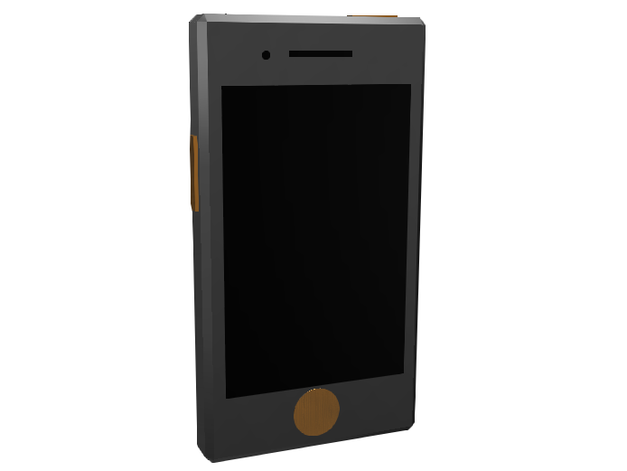 Cell Phone - 3D design by Mr_John on Mar 22, 2018