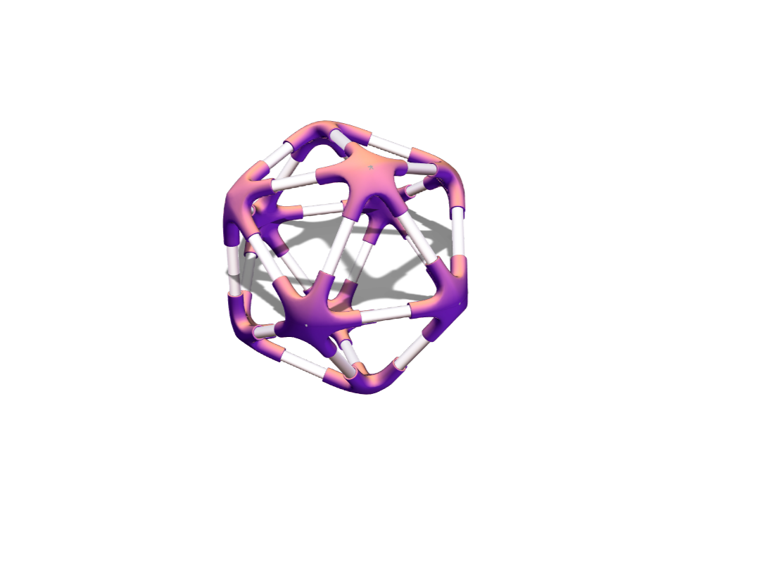 wired object polygon - 3D design by rabail on Jan 4, 2018