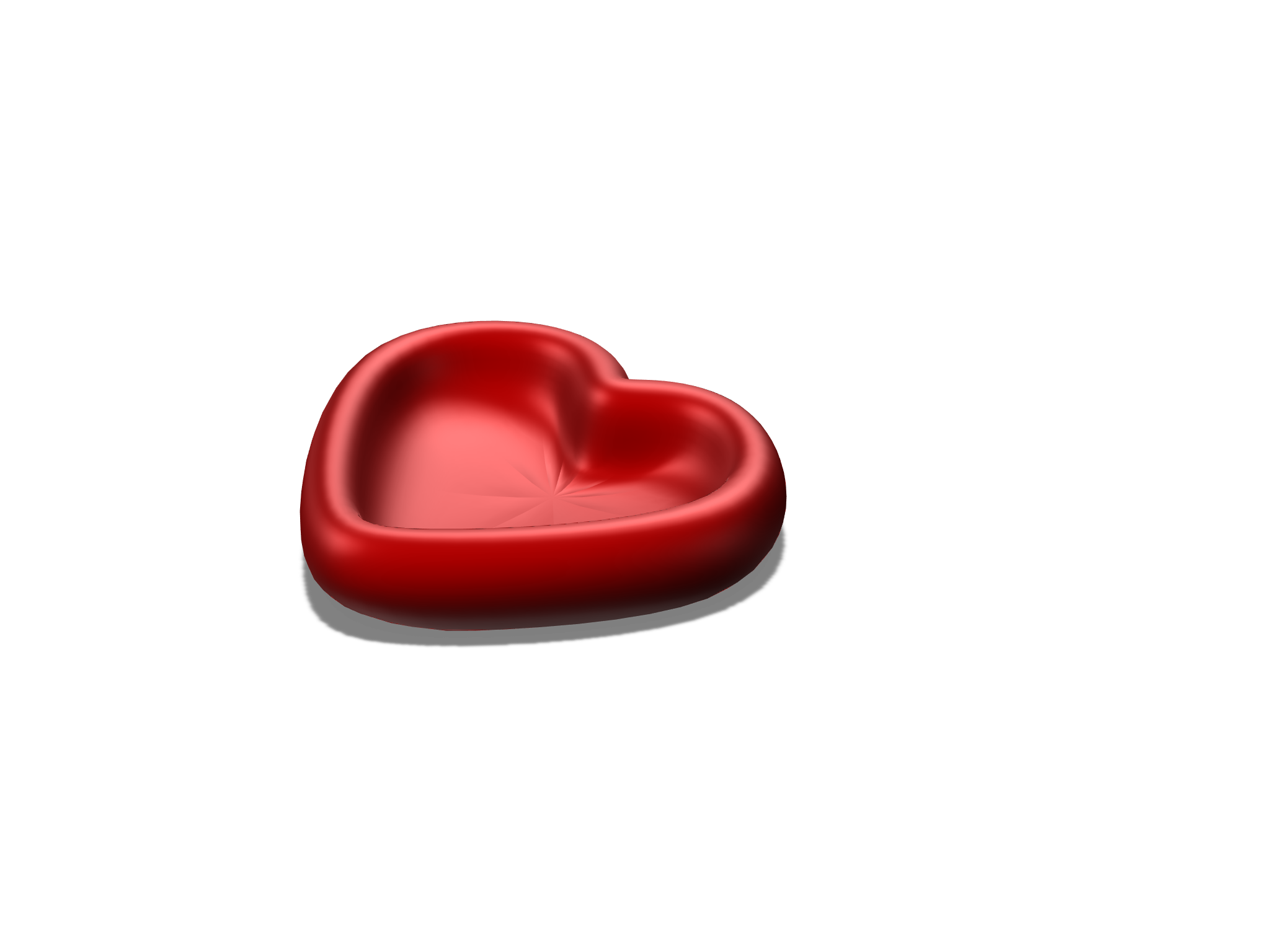 Heart Bowl - 3D design by deluca.jiim Apr 26, 2018