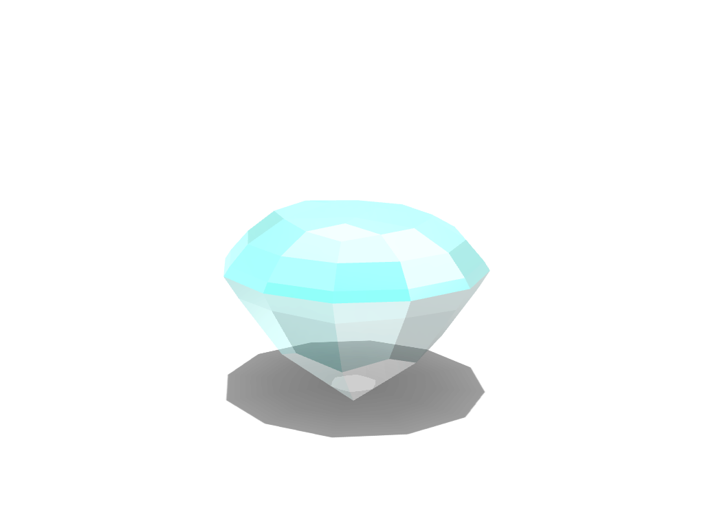 LOWPOLYGON DIAMOND - 3D design by leon.skalczynski Nov 29, 2017