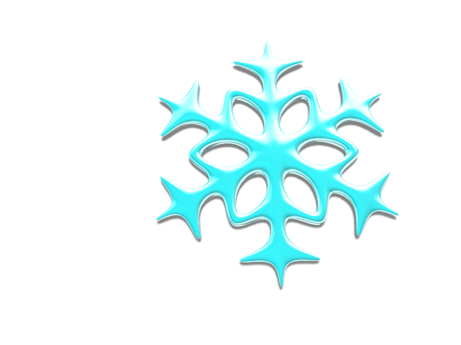 snowflake - 3D design by Alex Evans on Dec 19, 2017