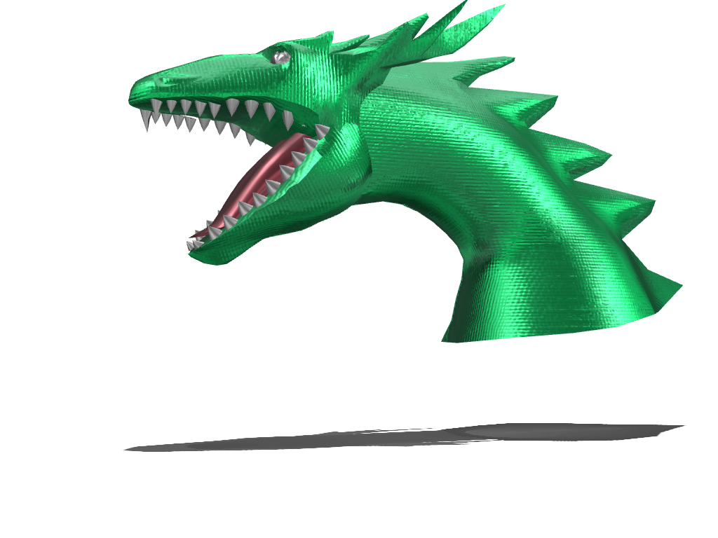dragon - 3D design by Tyler Bowers Dec 2, 2016