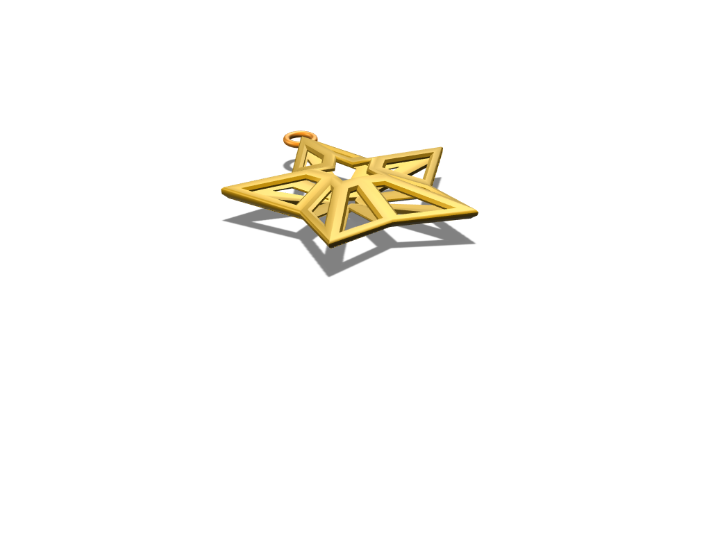 Christmas Star - 3D design by tomasamoroso12 Mar 6, 2018
