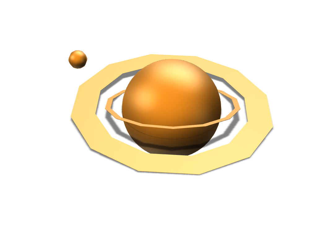saturn 2.0 - 3D design by 6y.pasqualetto Apr 17, 2018