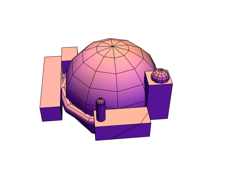 Better dome (Lunar Legacy) Avery - 3D design by acohen0018 on May 31, 2018